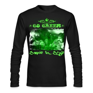 Go Green 3 - Men's Long Sleeve T-Shirt by Next Level