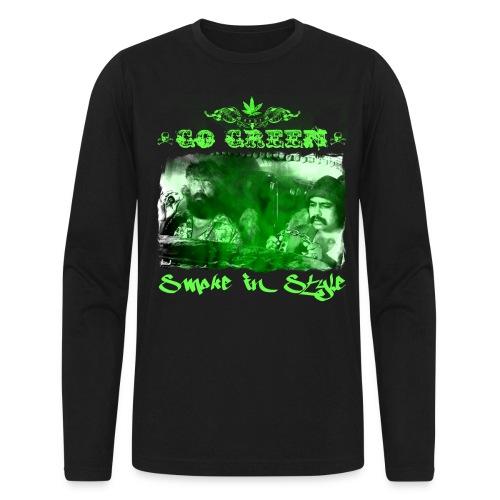 Go Green 3 - Men's Long Sleeve T-Shirt by Next Level