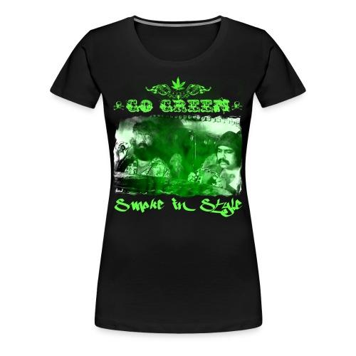 Go Green 3 - Women's Premium T-Shirt