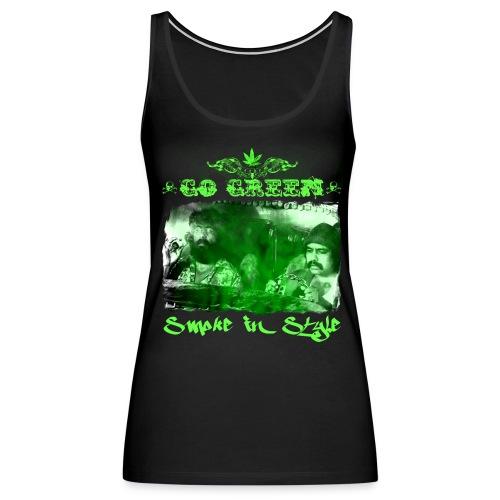 Go Green 3 - Women's Premium Tank Top