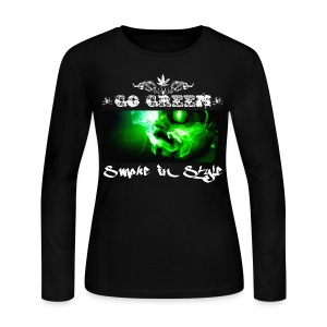 Go Green 5 - Women's Long Sleeve Jersey T-Shirt