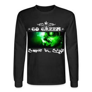 Go Green 5 - Men's Long Sleeve T-Shirt