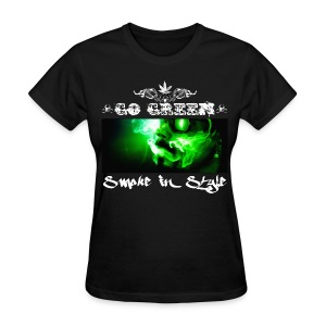 Go Green 5 - Women's T-Shirt