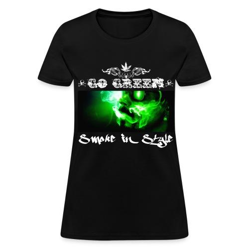 Go Green 5 - Women's T-Shirt