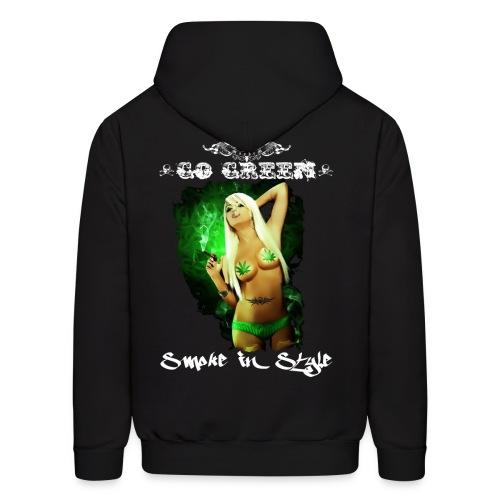Go Green 9 - Men's Hoodie