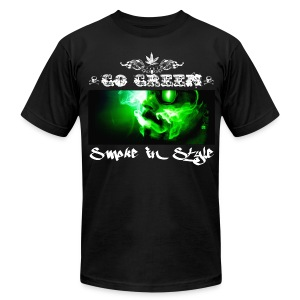 Go Green 5 - Men's T-Shirt by American Apparel