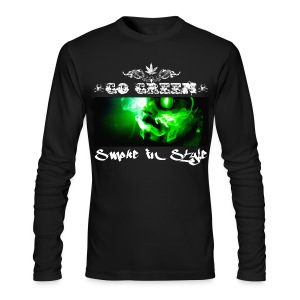 Go Green 5 - Men's Long Sleeve T-Shirt by Next Level