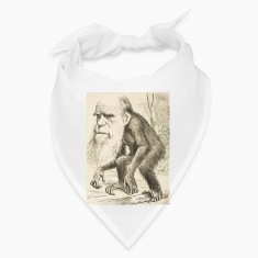 CHARLES DARWIN:  The Monkey's Uncle! Caps
