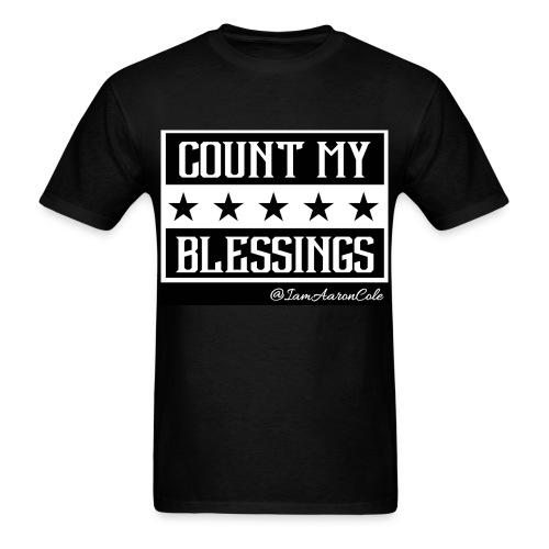 Count My Blessings Tee - Men's T-Shirt