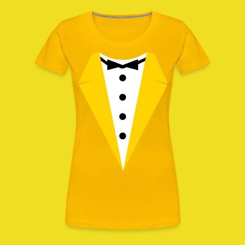 Woman's tuxedo - Women's Premium T-Shirt