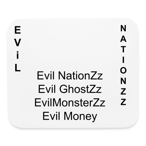 The Evil Member  - Mouse pad Horizontal