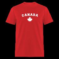 T-Shirts ~ Men's T-Shirt ~ Canada Arch Text