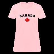 Women's T-Shirts ~ Women's T-Shirt ~ Canada Arch Text