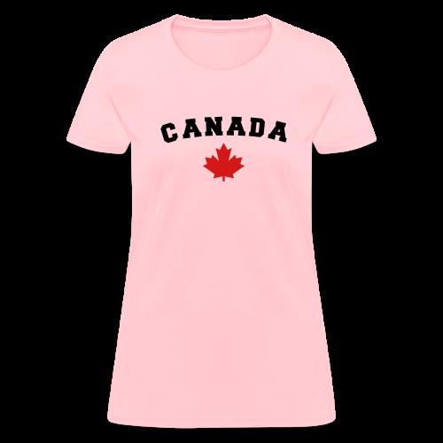 Canada Arch Text - Women's T-Shirt