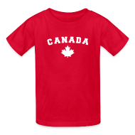 Kids' Shirts ~ Kids' T-Shirt ~ Canada Arch Text