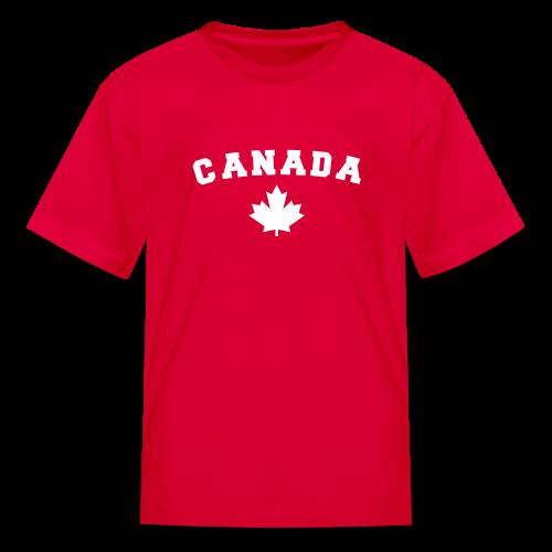 Canada Arch Text - Kids' T-Shirt