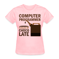 Women's T-Shirts ~ Women's T-Shirt ~ Computer Programmer Womens T-shirt (funny)