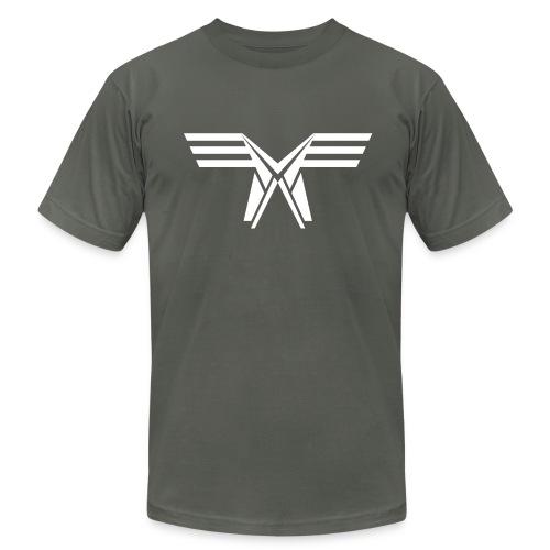 Hunter Fernon Shirt (White Fill) - Men's Fine Jersey T-Shirt