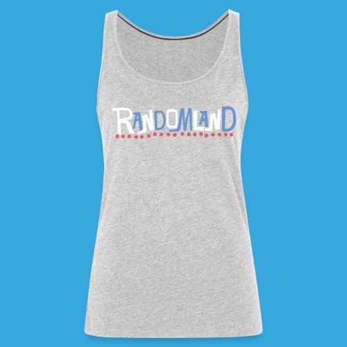 Randomland Women's Tank Retro logo shirt - Women's Premium Tank Top