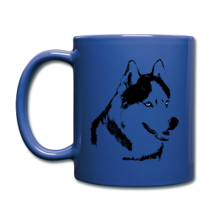HUsky Cups Sled Dog Mugs Siberian Husky Coffee Cups - Full Color Mug