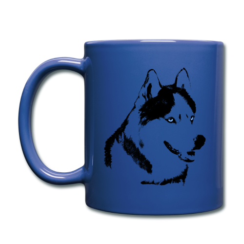 HUsky Cups Sled Dog Mugs Siberian Husky Coffee Cups - Full Color Mug