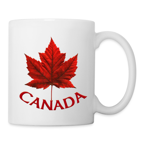 Canada Souvenir Cups Red Canada Maple Leaf Mugs  - Coffee/Tea Mug