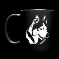 Mugs & Drinkware ~ Full Color Mug ~ HUsky Cups Sled Dog Mugs Siberian Husky Coffee Cups