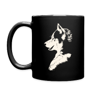 Mugs & Drinkware ~ Full Color Mug ~ HUsky Cups Sled Dog Mugs Siberian Husky Coffee Cups