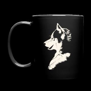 Husky Cups Mugs Siberian Husky Puppy Coffee Cups - Full Color Mug