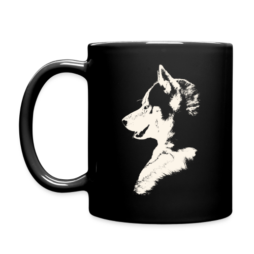 Husky Cups Mugs Siberian Husky Puppy Coffee Cups - Full Color Mug