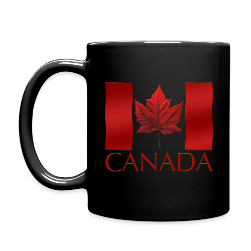 Canada Flag Cups Souvenir Mugs Red Canada Flag Coffee Cups - Full Color Mug