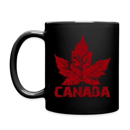Canada Souvenir Cups Cool Canada Maple Leaf Mugs  - Full Color Mug
