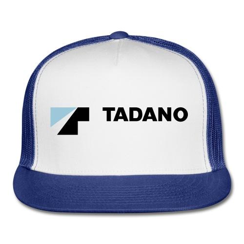 Blue/white hat with full color logo - Trucker Cap