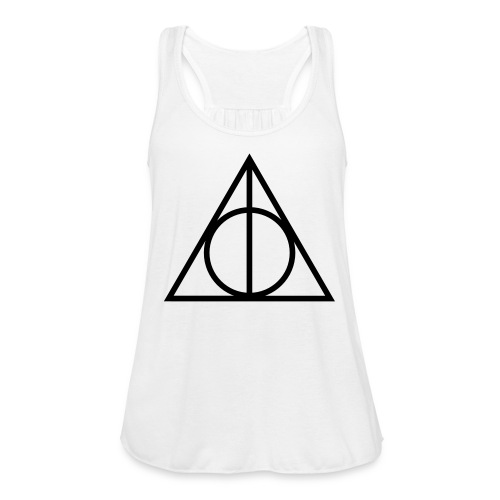 Deathly Hallows Tank - Women's Flowy Tank Top by Bella