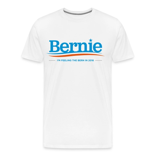 Feeling the Bern in 2016 - Men's Premium T-Shirt - Men's Premium T-Shirt