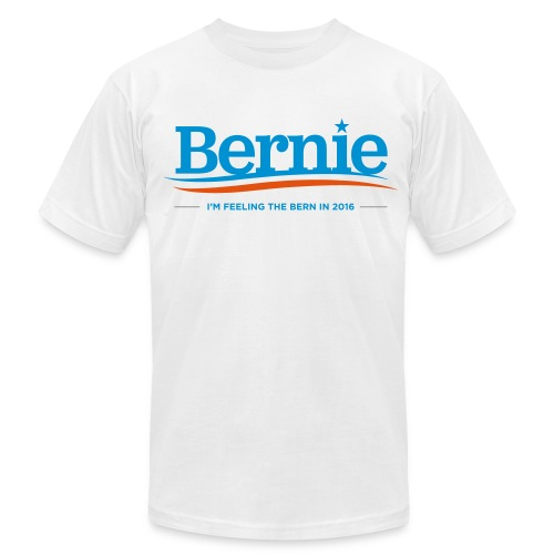 Feeling the Bern in 2016 - Men's T-Shirt by American Apparel - Men's Fine Jersey T-Shirt