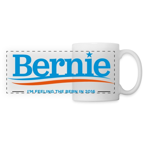 Feeling the Bern in 2016 - Panoramic Mug - Panoramic Mug