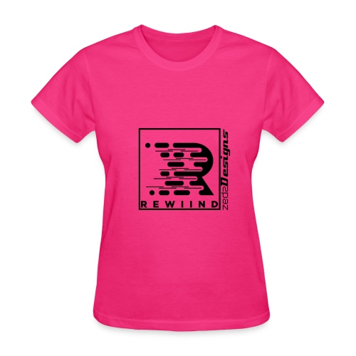 Rewiind By ZedzDesigns - Women's T-Shirt