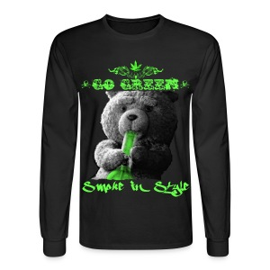 Go Green 2 - Men's Long Sleeve T-Shirt