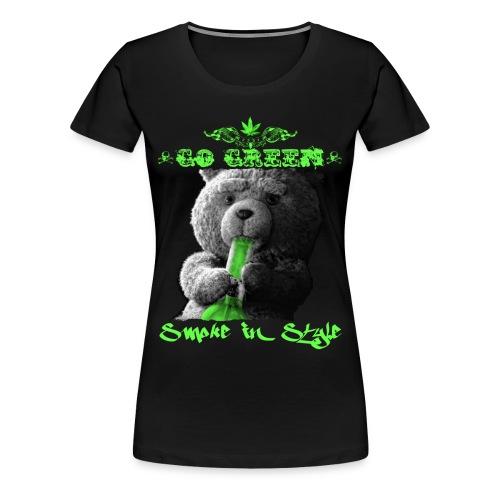Go Green 2 - Women's Premium T-Shirt