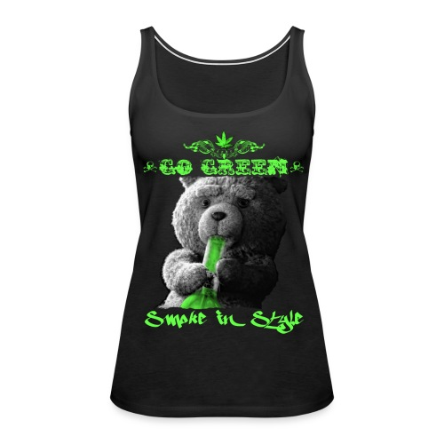 Go Green 2 - Women's Premium Tank Top