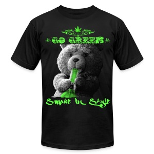 Go Green 2 - Men's T-Shirt by American Apparel