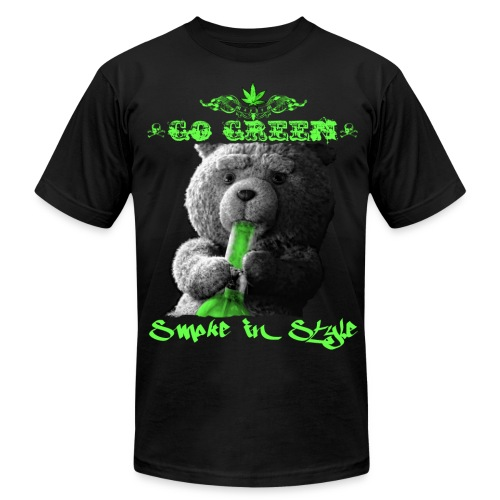 Go Green 2 - Men's Fine Jersey T-Shirt