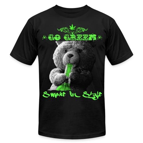 Go Green 2 - Men's Fine Jersey T-Shirt