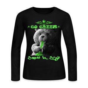 Go Green 2 - Women's Long Sleeve Jersey T-Shirt