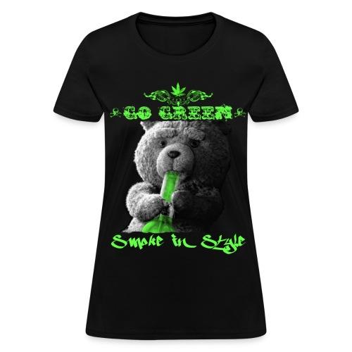 Go Green 2 - Women's T-Shirt