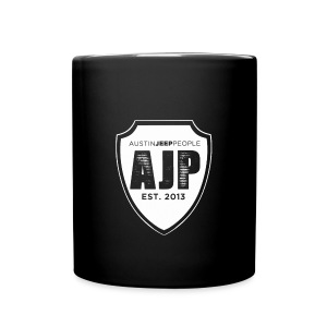 AJP Black Shot Glasses - Full Color Mug