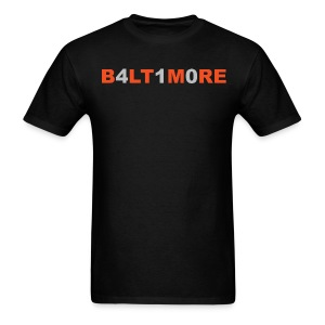 Baltimore 410- Men's black crew neck - Men's T-Shirt