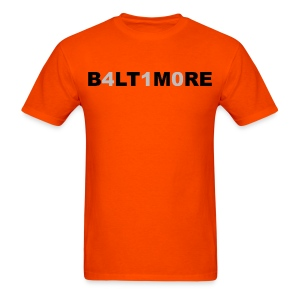 Baltimore 410 - Men's orange crew neck - Men's T-Shirt