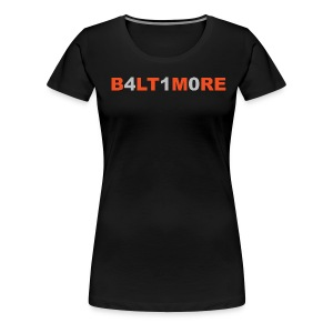 Baltimore 410- Women's black crew neck - Women's Premium T-Shirt